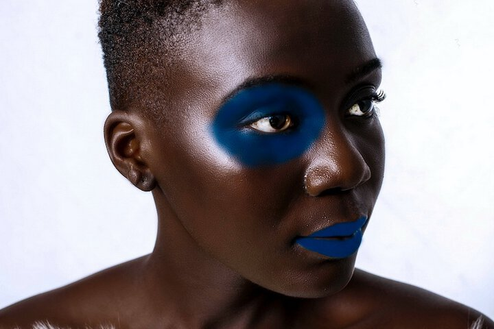 african eye makeup